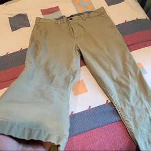 Khaki Gap Casual Dress Pants 34x32